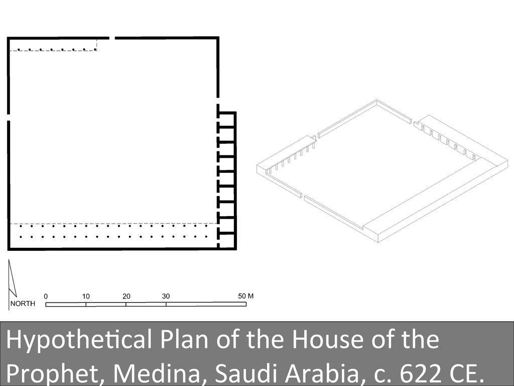 Hypothe4cal Plan of the House of...