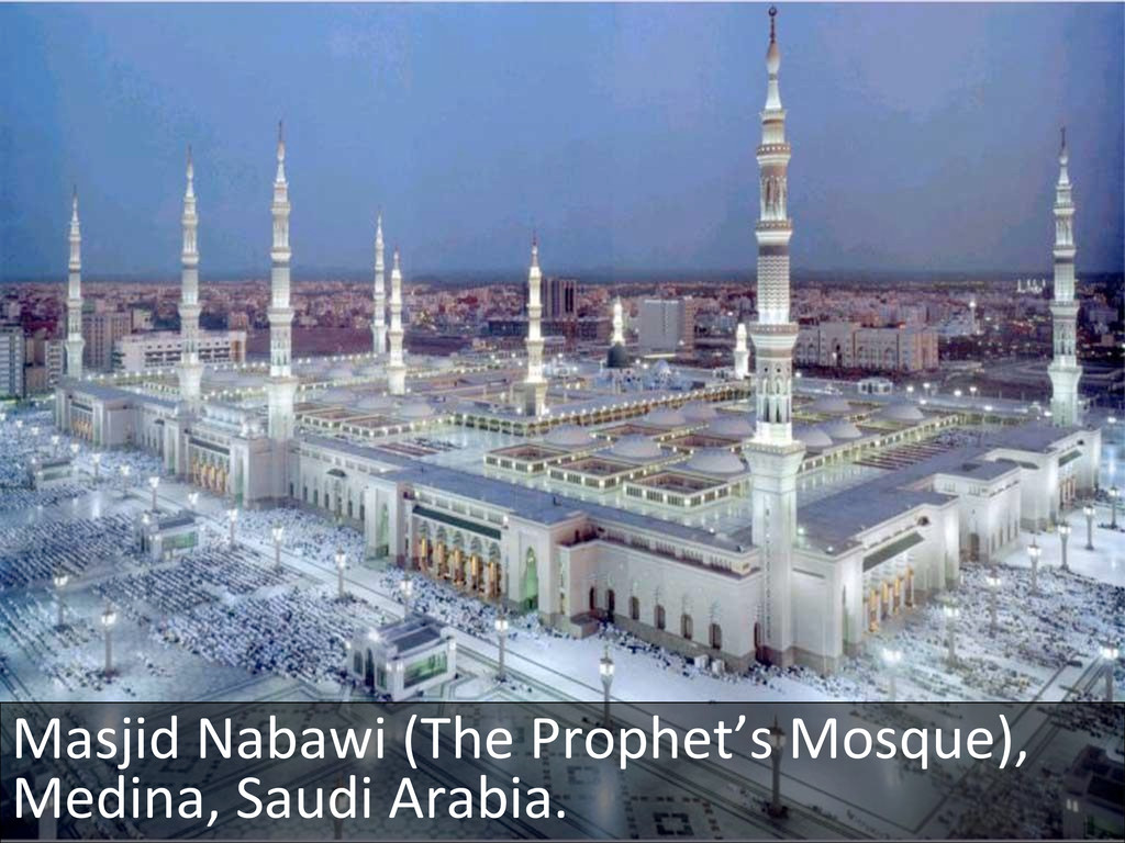 Masjid Nabawi (The Prophet's Mosque...
