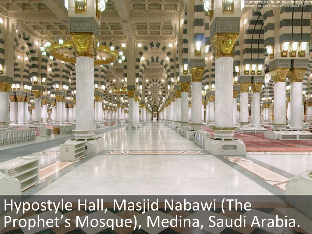 Hypostyle Hall, Masjid Nabawi (The...