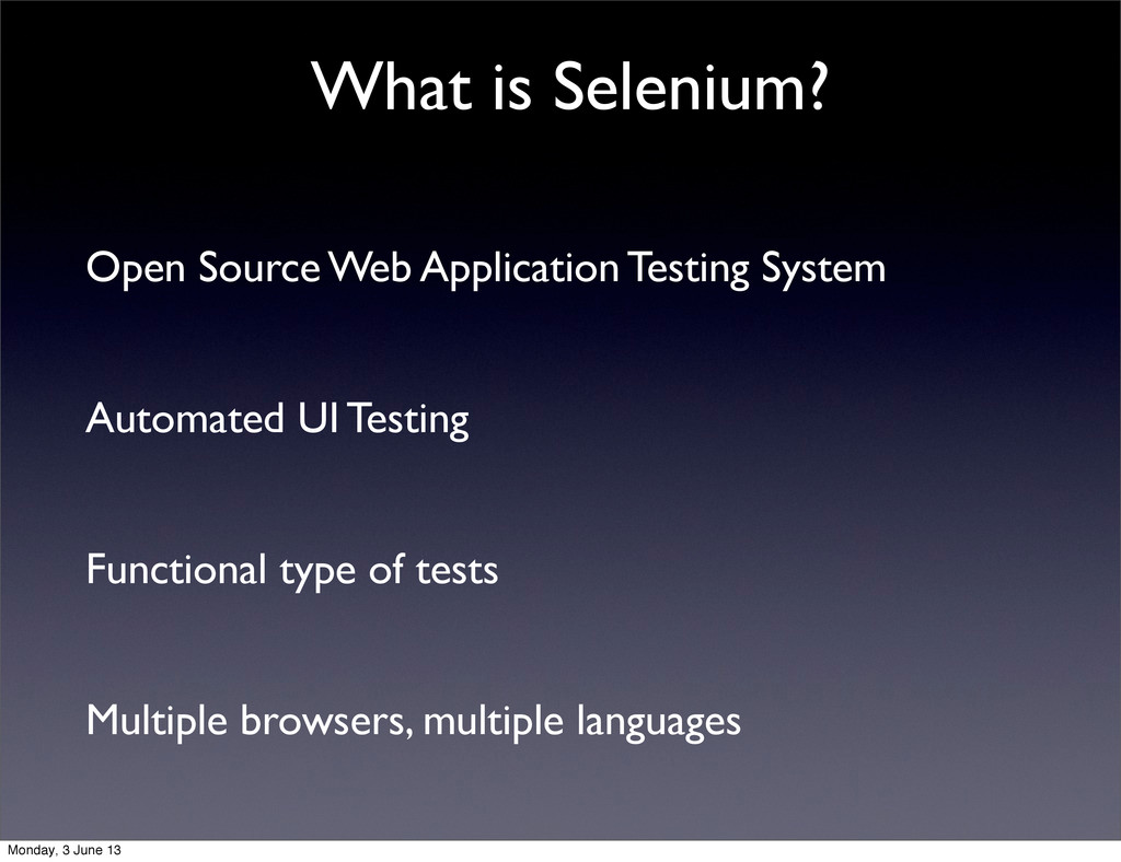 Open Source Web Application Testing System Auto...
