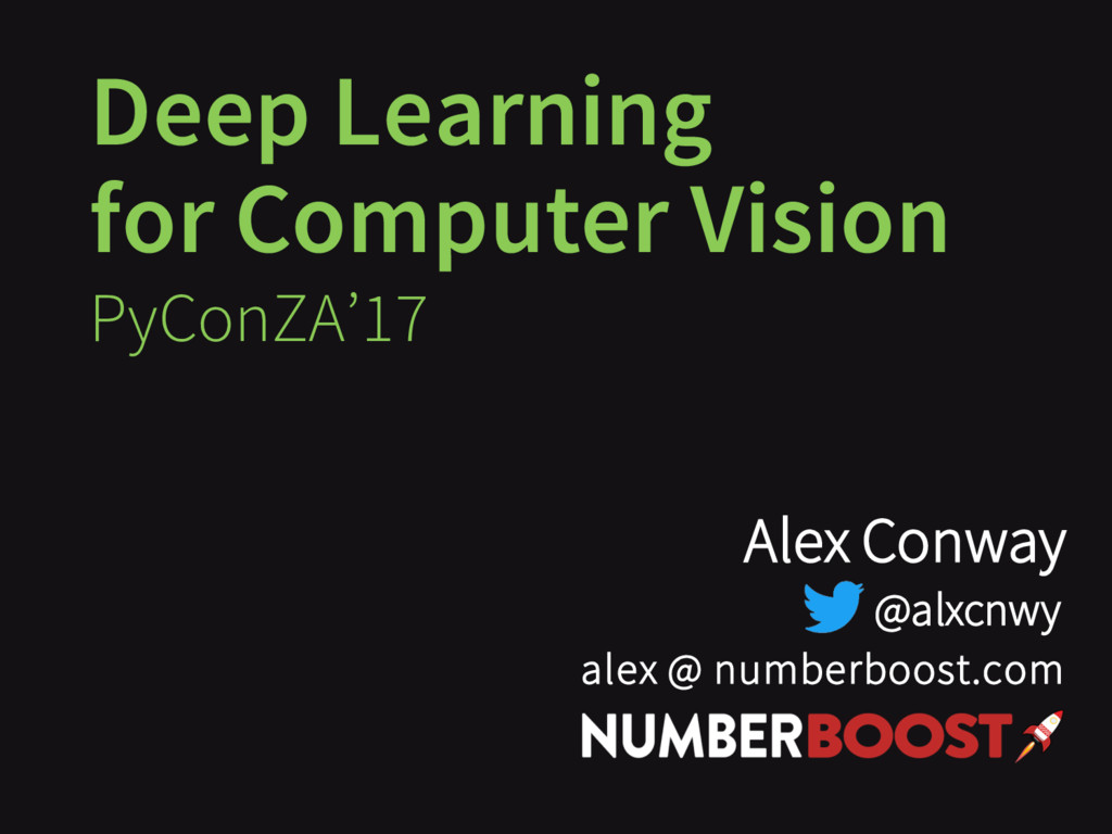 Deep Learning for Computer Vision Executive-ML ...