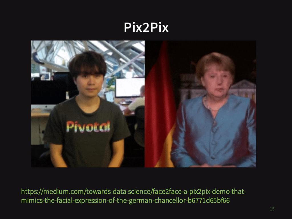 Pix2Pix https://medium.com/towards-data-science...
