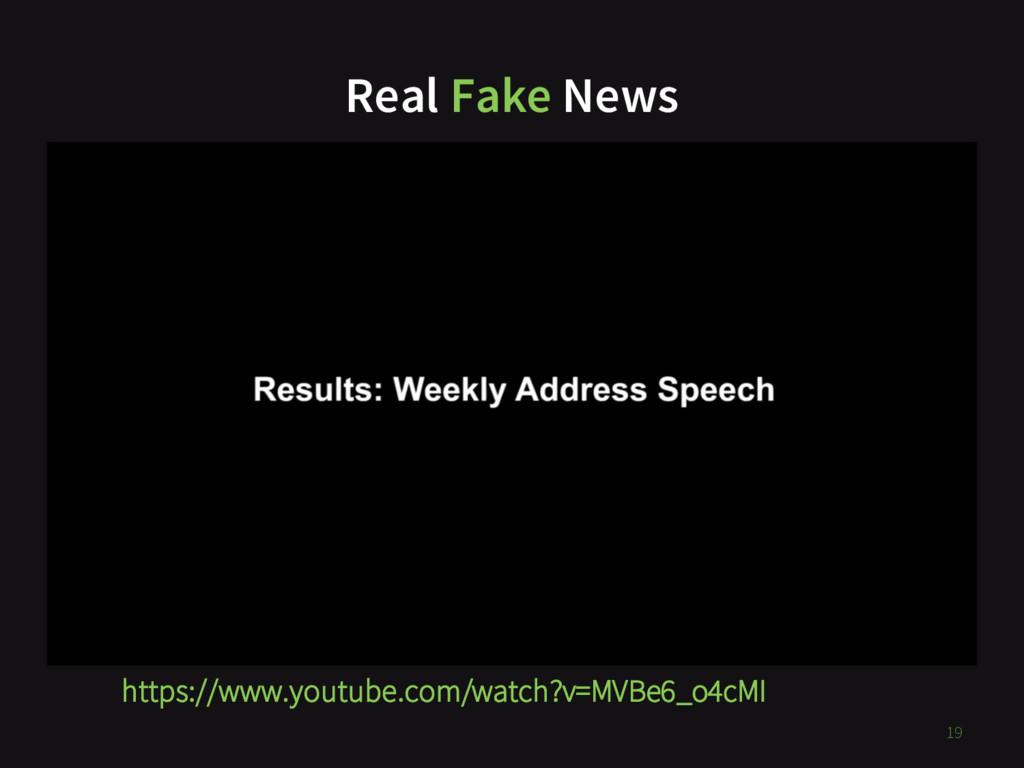 Real Fake News https://www.youtube.com/watch?v=...