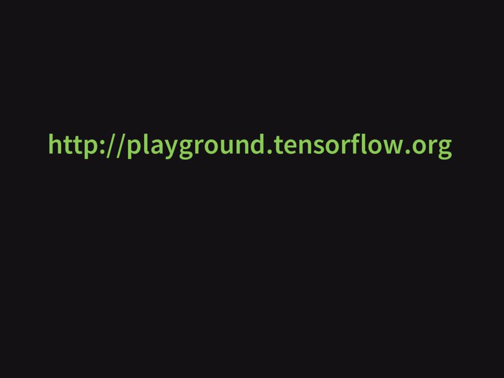http://playground.tensorflow.org
