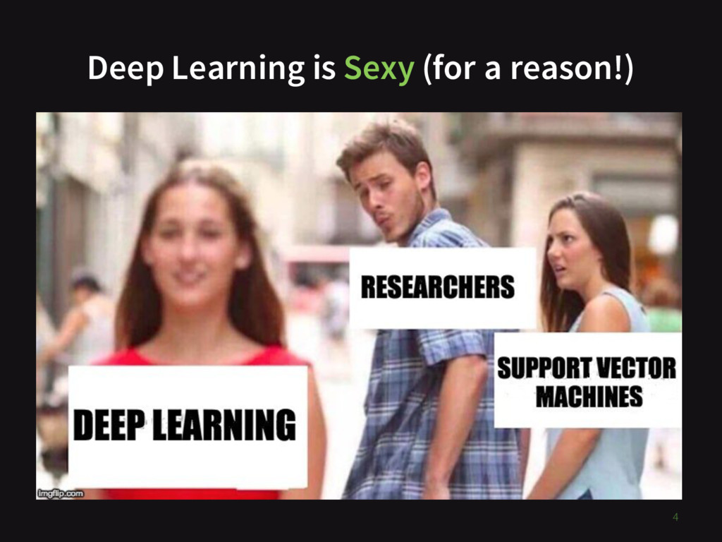 Deep Learning is Sexy (for a reason!) 4