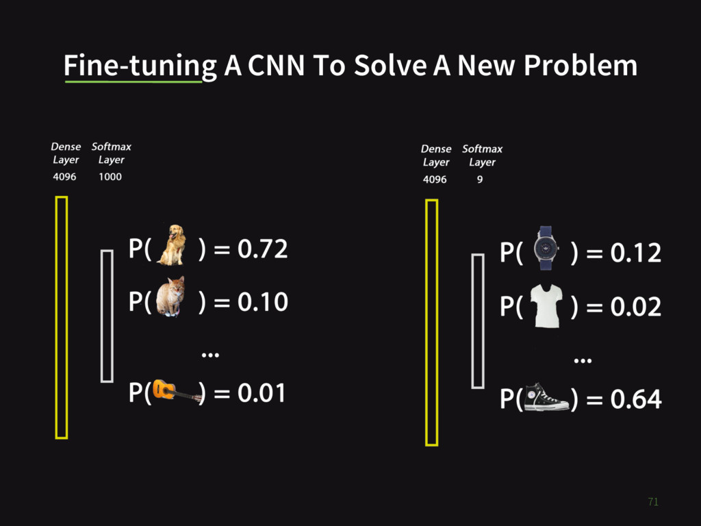 Fine-tuning A CNN To Solve A New Problem 71