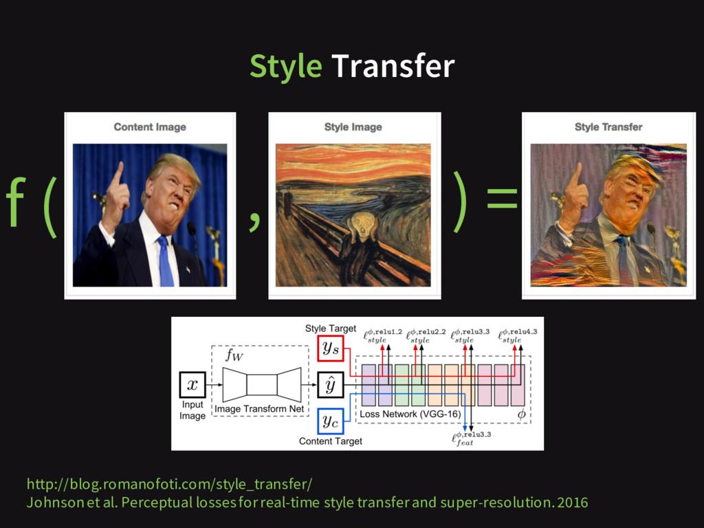 http://blog.romanofoti.com/style_transfer/ John...