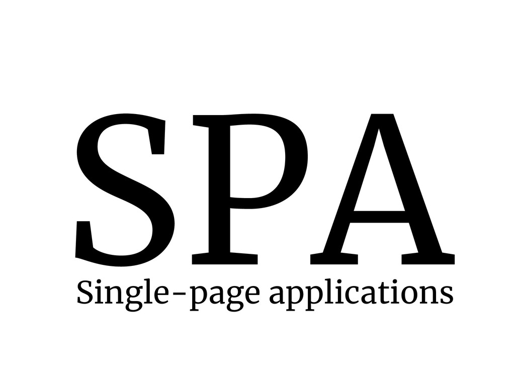 SPA Single-page applications