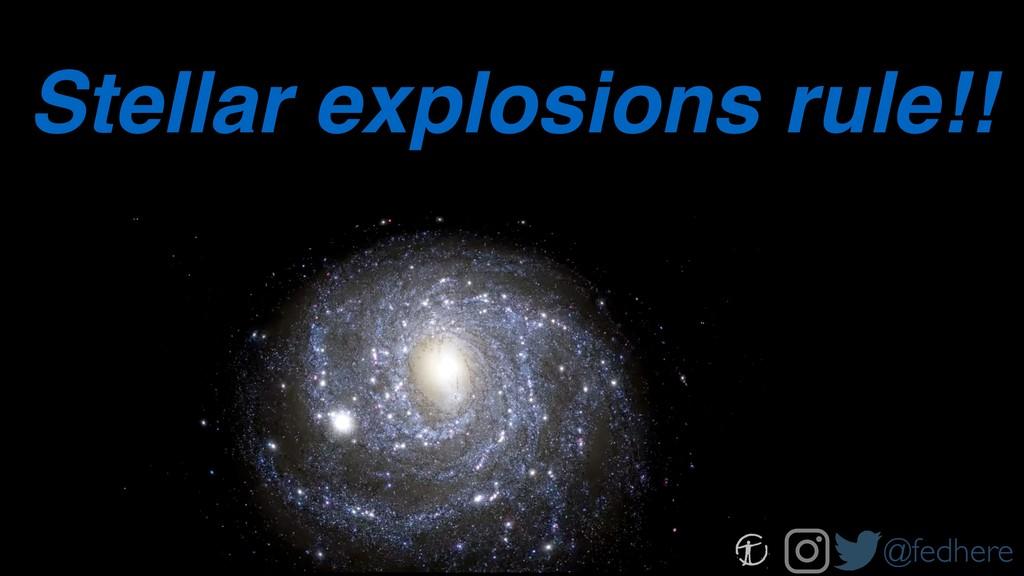 @fedhere Stellar explosions rule!!
