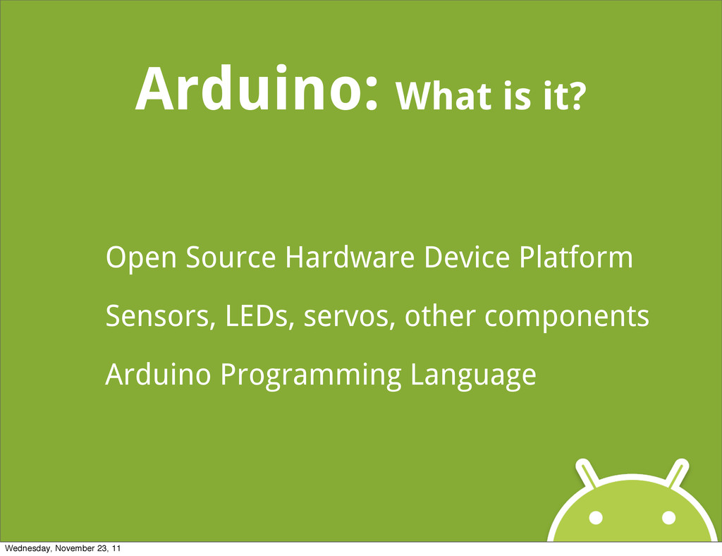 Arduino: What is it? Open Source Hardware Devic...