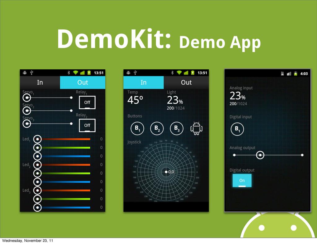 DemoKit: Demo App Wednesday, November 23, 11