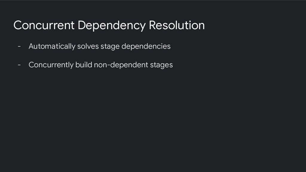 Concurrent Dependency Resolution - Automaticall...
