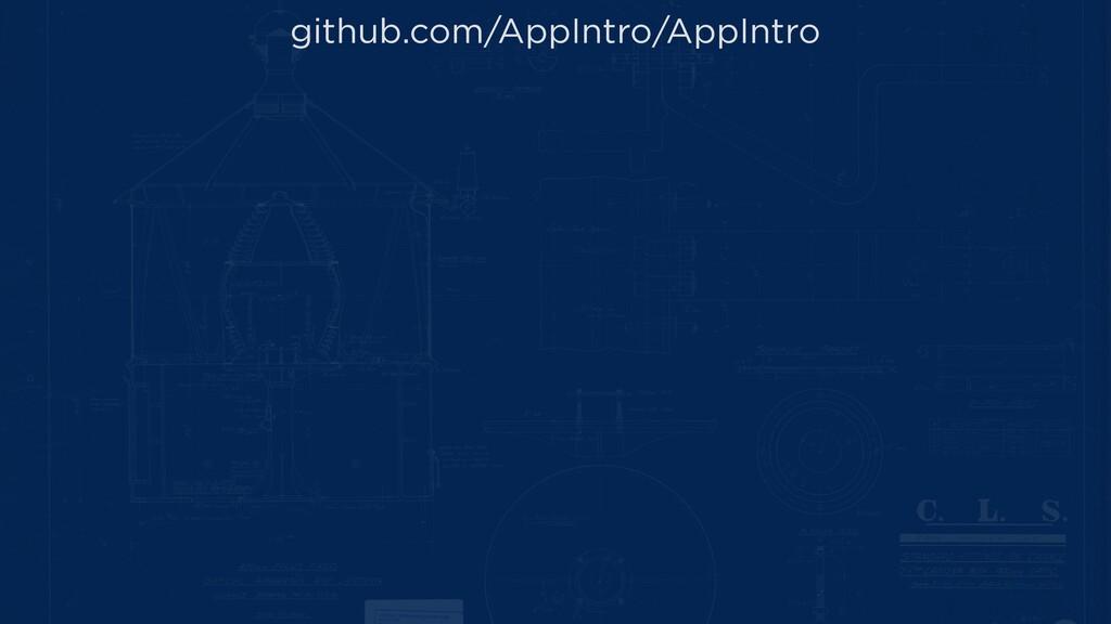 github.com/AppIntro/AppIntro