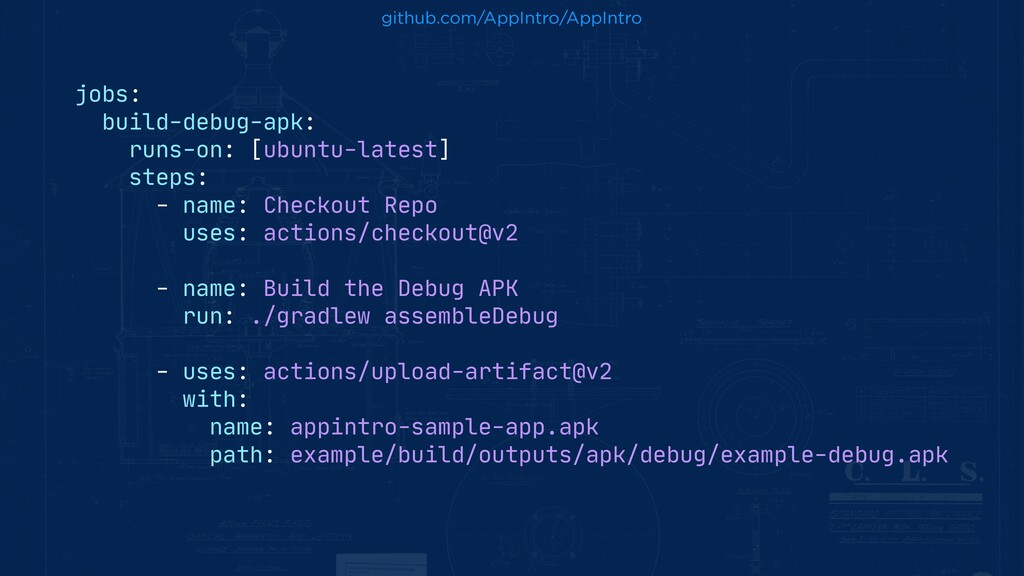 jobs:  build-debug-apk:  runs-on: [ubuntu-lates...