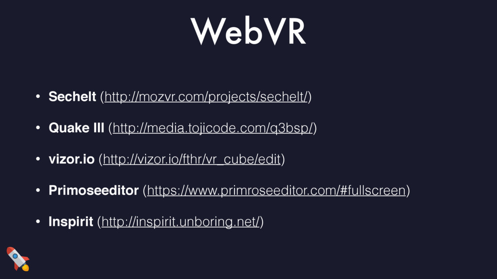 WebVR • Sechelt (http://mozvr.com/projects/sech...