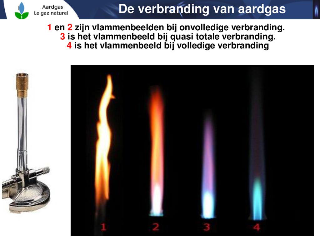 21 1 en 2 zijn vlammenbeelden bij onvolledige v...