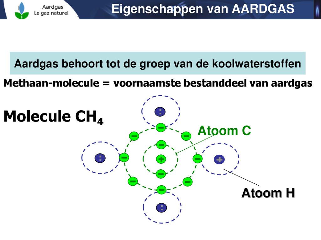 Aardgas behoort tot de groep van de koolwaterst...