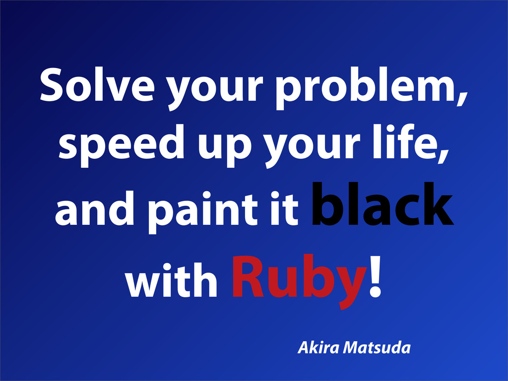 Solve your problem, speed up your life, and pai...