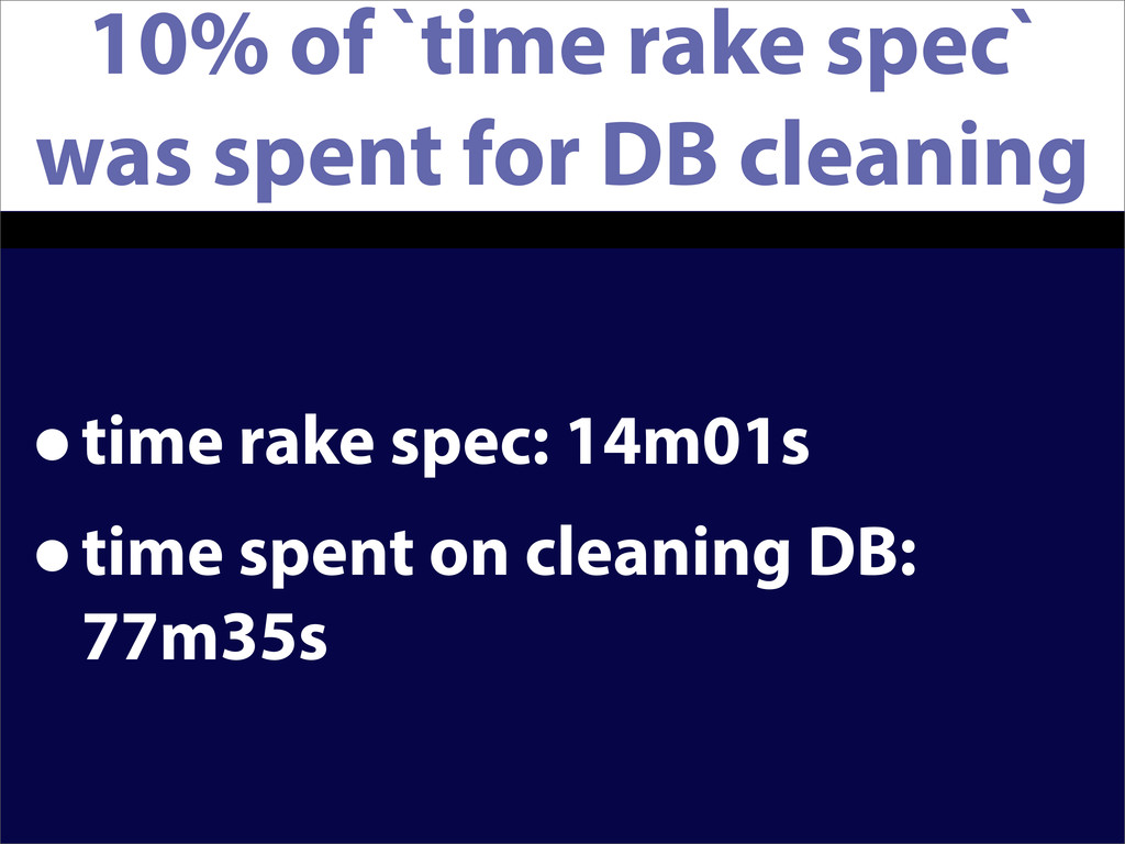 10% of `time rake spec` was spent for DB cleani...