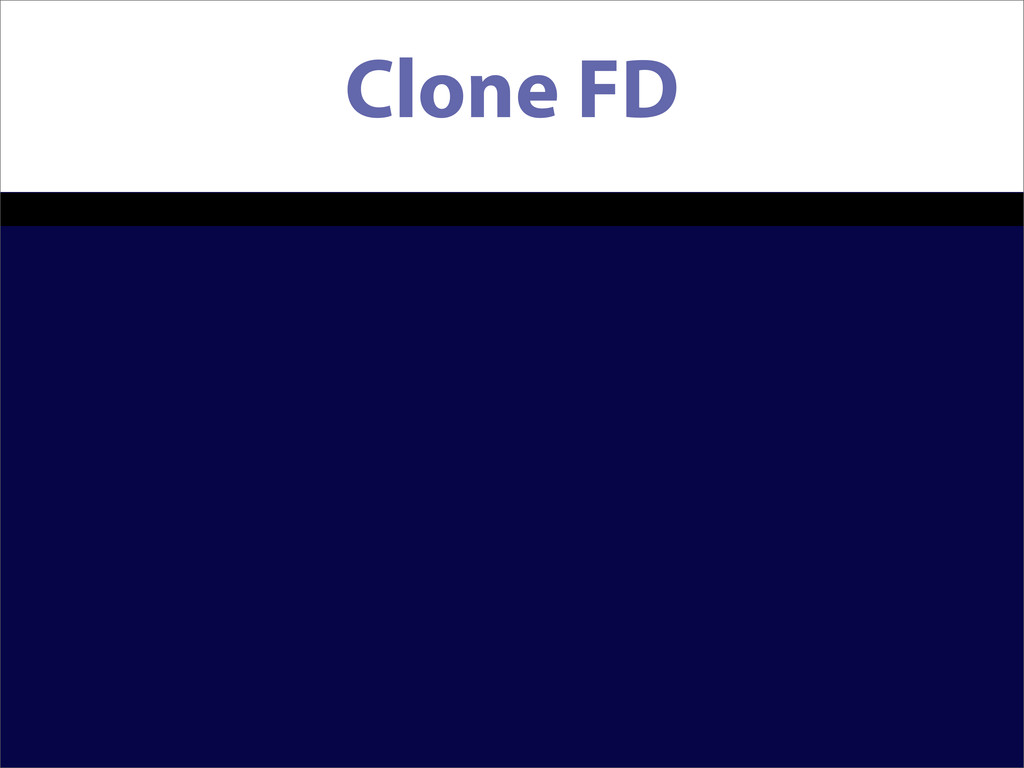 Clone FD