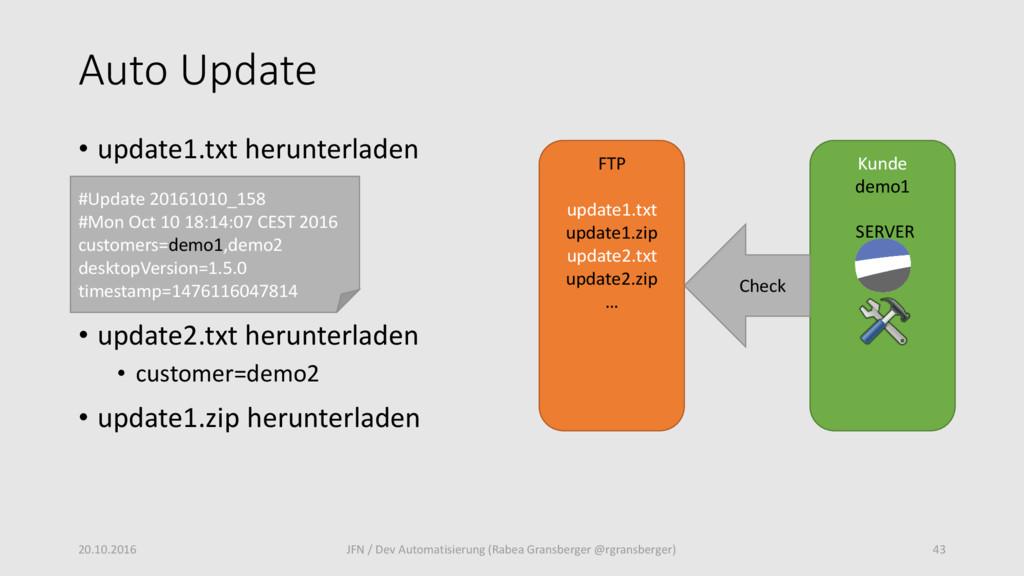 Auto Update • update1.txt herunterladen • updat...