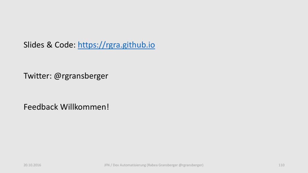 Slides & Code: https://rgra.github.io Twitter: ...