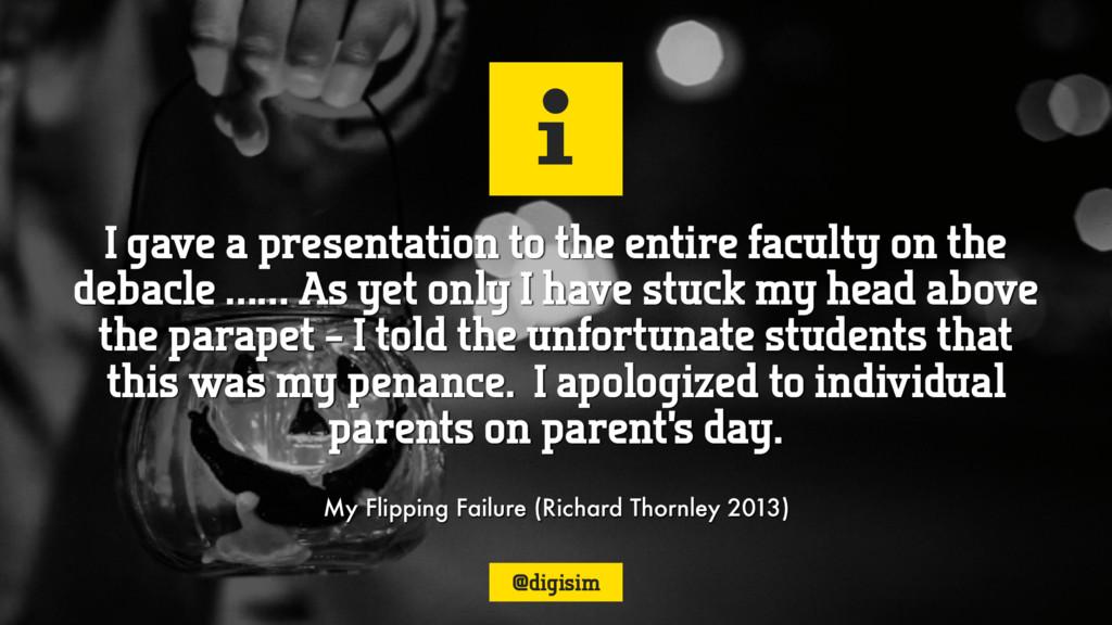 i My Flipping Failure (Richard Thornley 2013) I...