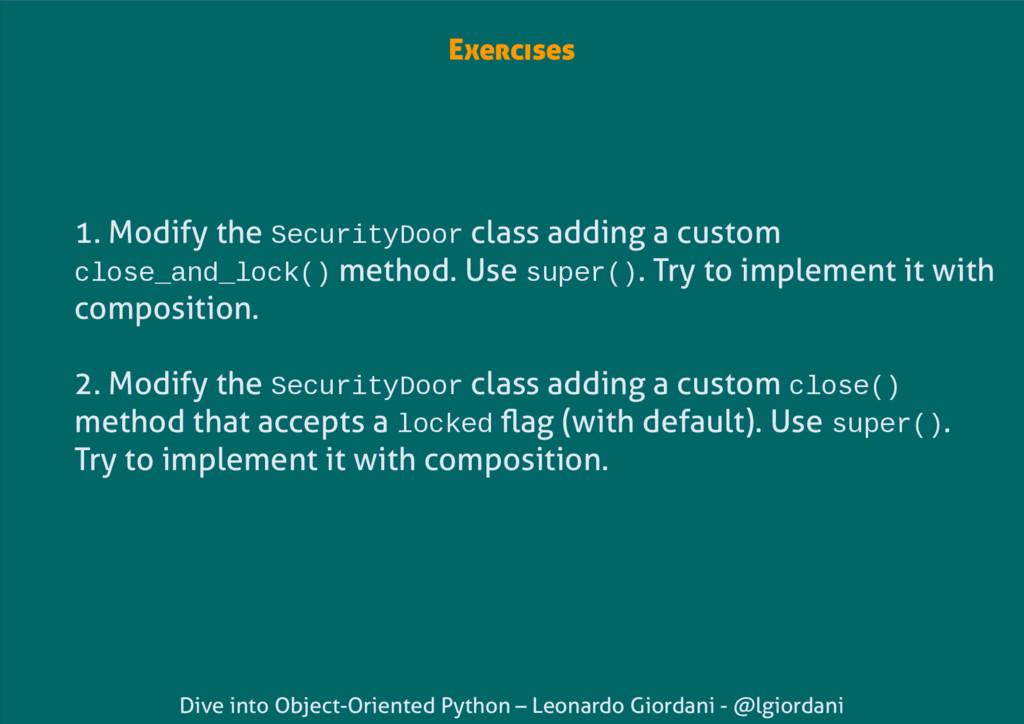 Dive into Object-Oriented Python – Leonardo Gio...