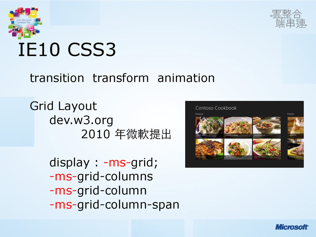 IE10 CSS3 transition transform animation