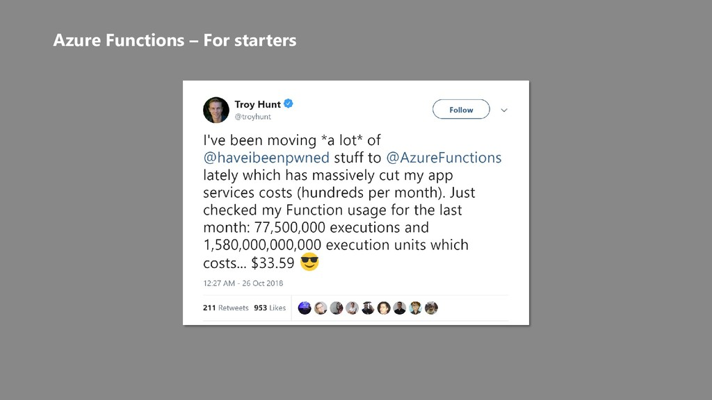 Azure Functions – For starters