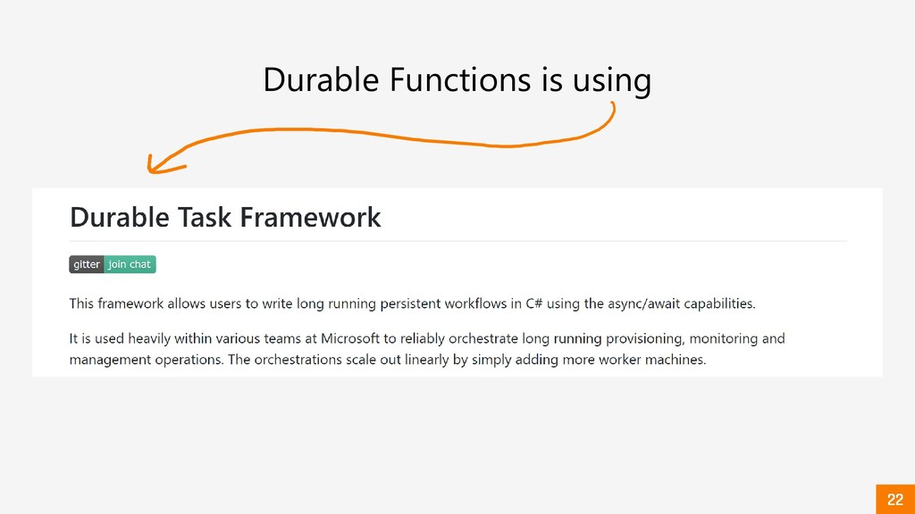 Durable Functions is using