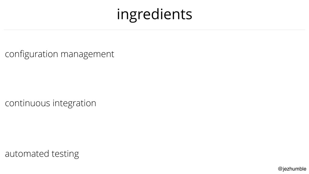 @jezhumble configuration management continuous i...