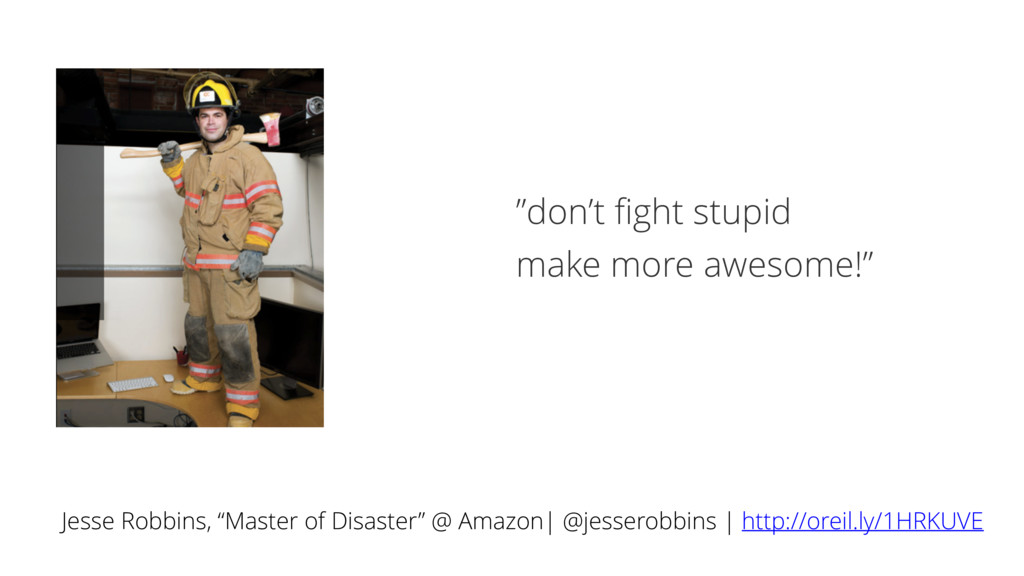 "Jesse Robbins, ""Master of Disaster"" @ Amazon