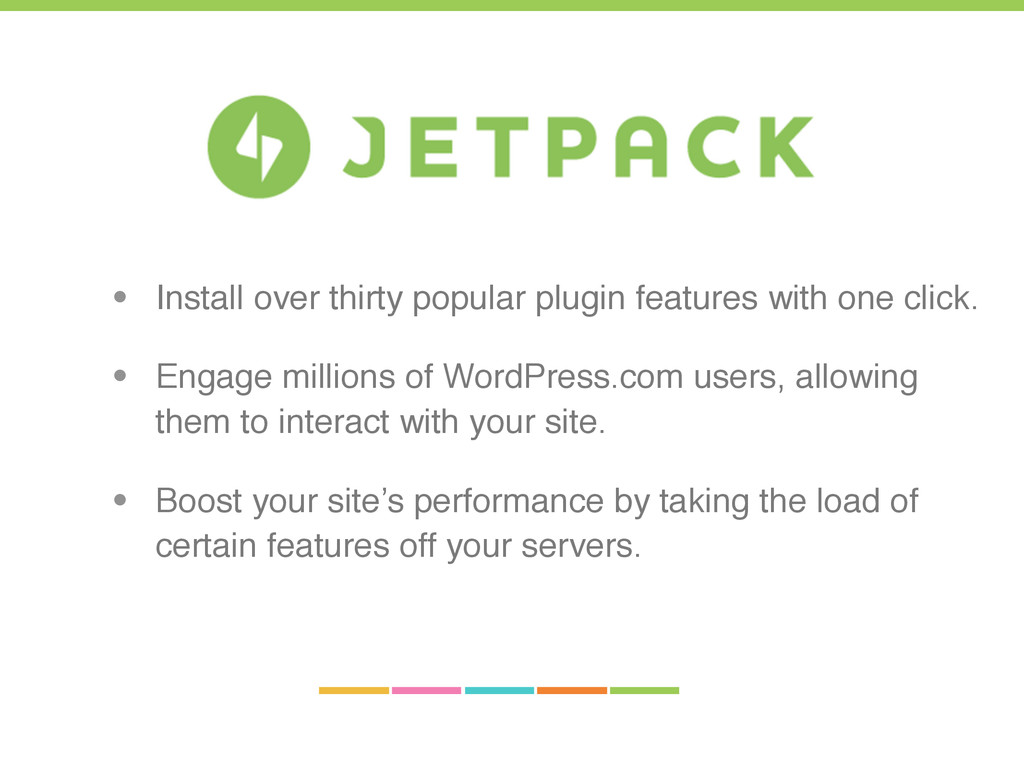 • Install over thirty popular plugin features w...