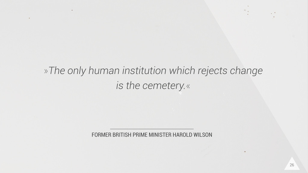FORMER BRITISH PRIME MINISTER HAROLD WILSON »Th...
