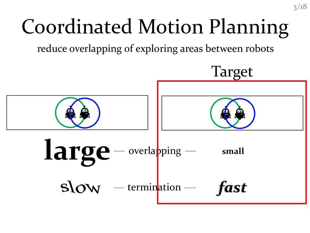 /18 3 Coordinated Motion Planning reduce overla...
