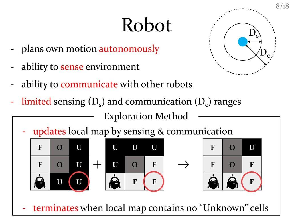 /18 8 Robot Ds Dc - plans own motion autonomous...