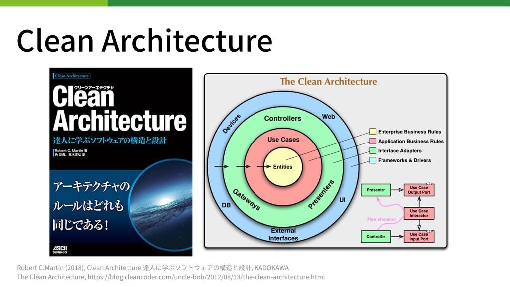Clean Architecture Robert C.Martin ( ), Clean A...