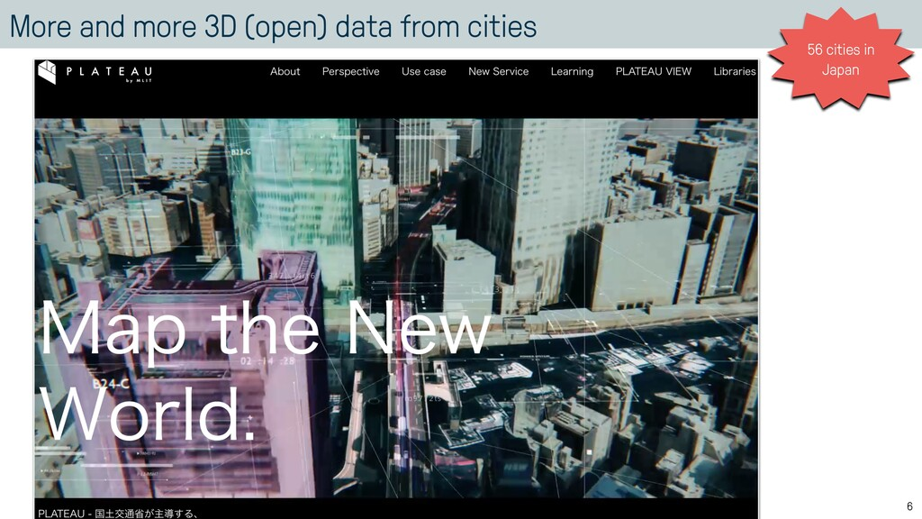 More and more 3D (open) data from cities 6 56 c...