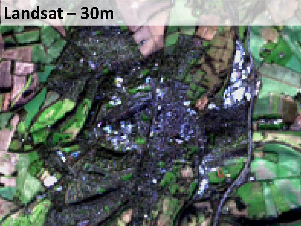 Landsat – 30m