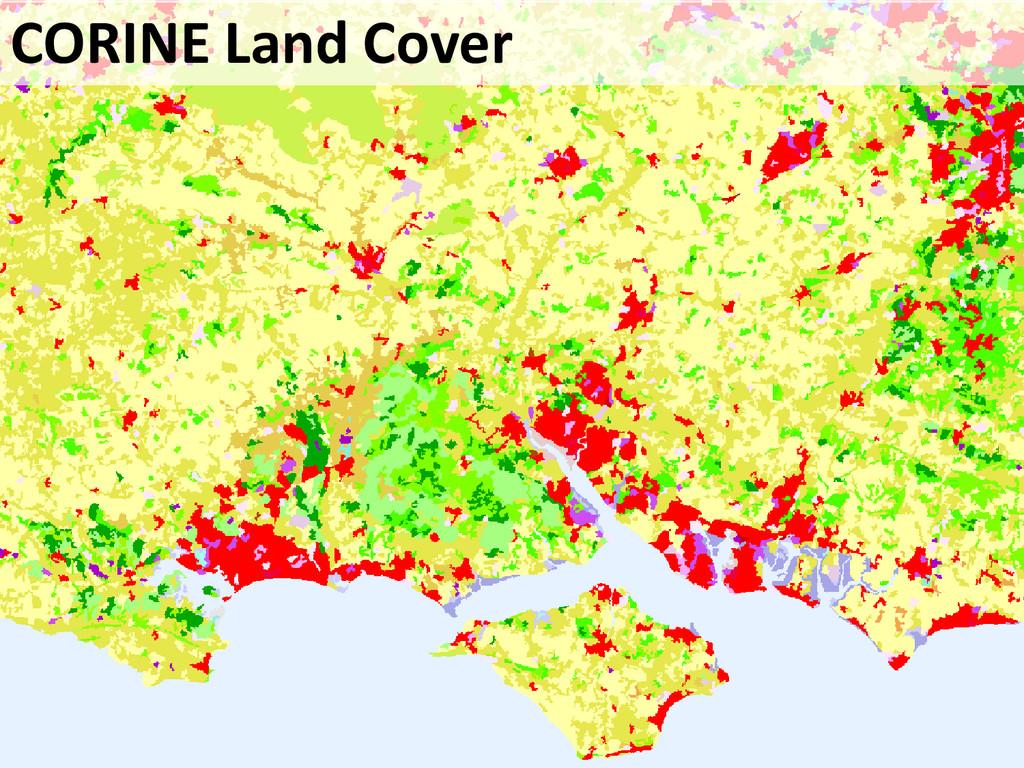 CORINE Land Cover CORINE Land Cover