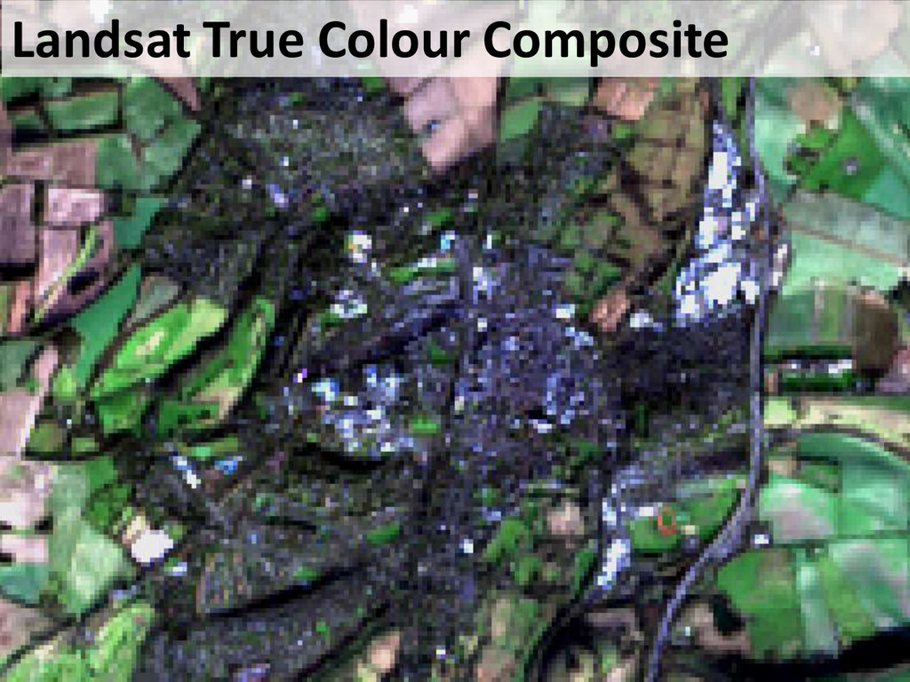 Landsat True Colour Composite