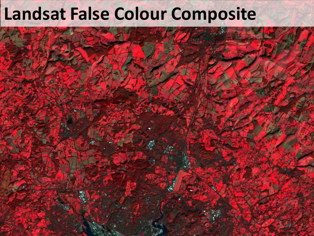 Landsat False Colour Composite