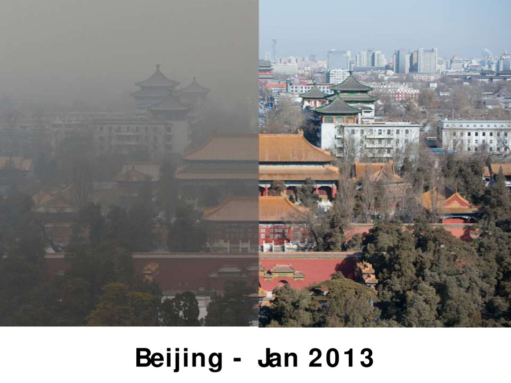 Beijing - Jan 2013
