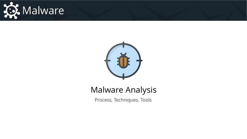 Malware Analysis Malware Introduction to Malwar...