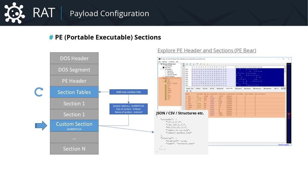 Malware Payload Configuration # PE (Portable Ex...