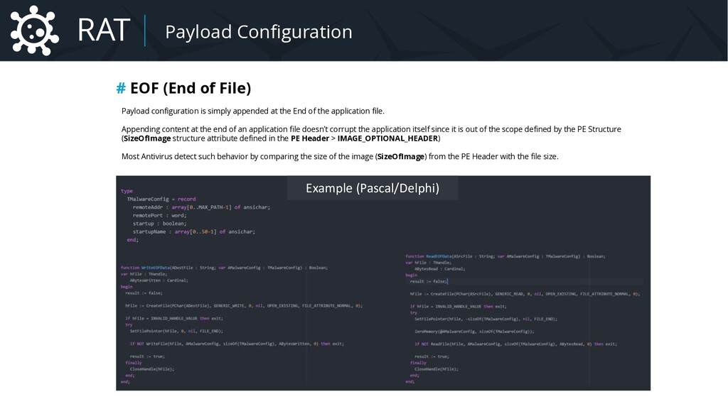 Malware Payload Configuration # EOF (End of Fil...