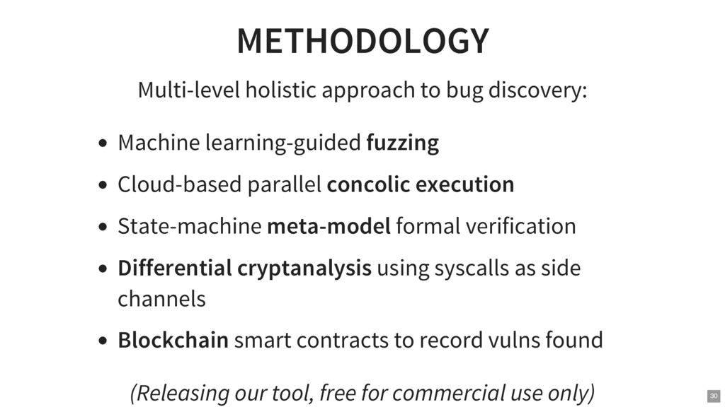 METHODOLOGY Multi-level holistic approach to bu...