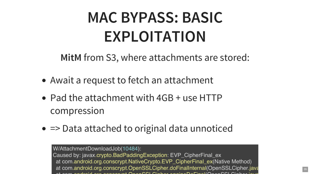 MAC BYPASS: BASIC EXPLOITATION MitM from S3, wh...
