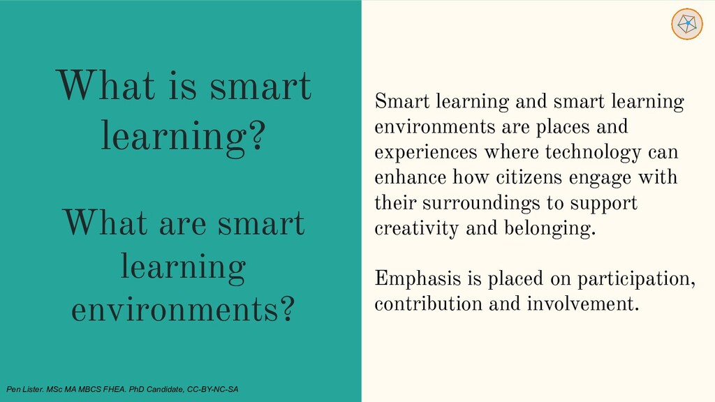 What is smart learning? What are smart learning...